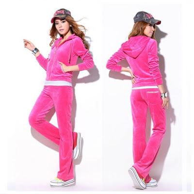 Model Baju Olahraga Jogging Wanita Warna Pink