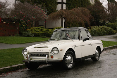 1968 Datsun Fairlady 1600 roadster.