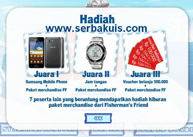 Kuis Facebook Berhadiah Android Samsung, Jam Tangan & Voucher Belanja