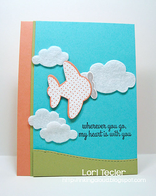 Wherever You Go card-designed by Lori Tecler/Inking Aloud-stamps from Reverse Confetti