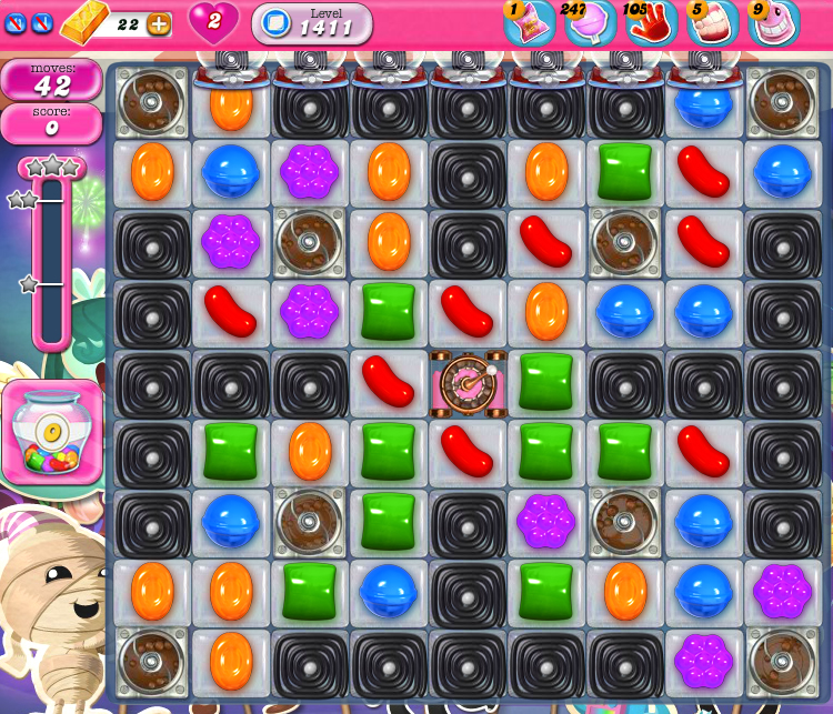 Candy Crush Saga 1411