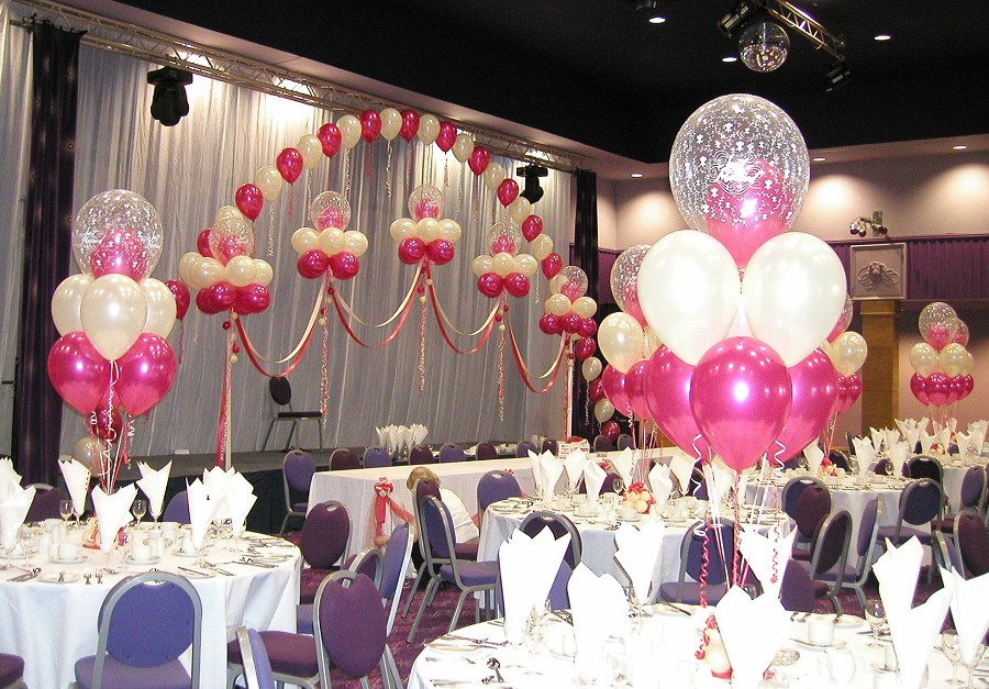 Welcome to Fashion Forum: Wedding Decoration With Balloons