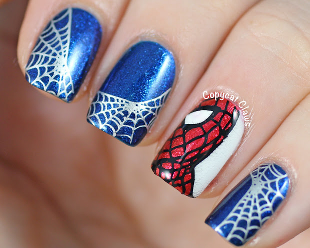 copycat claws spider-man nail