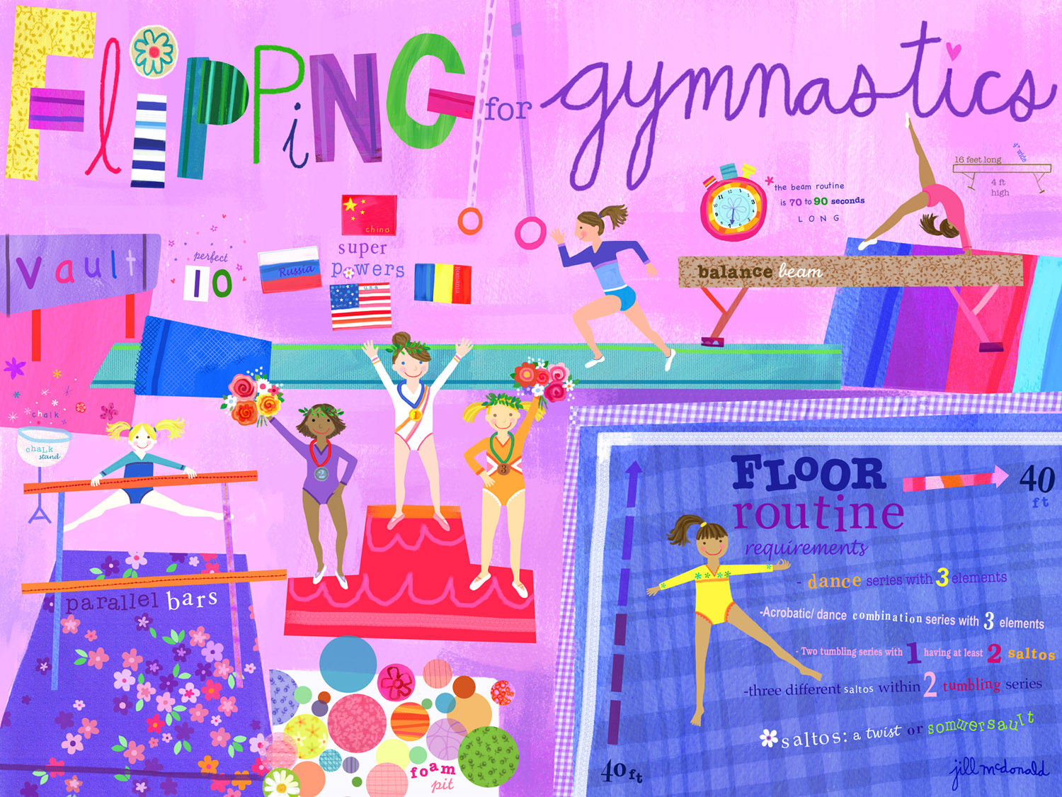 Show And Tell Olympics