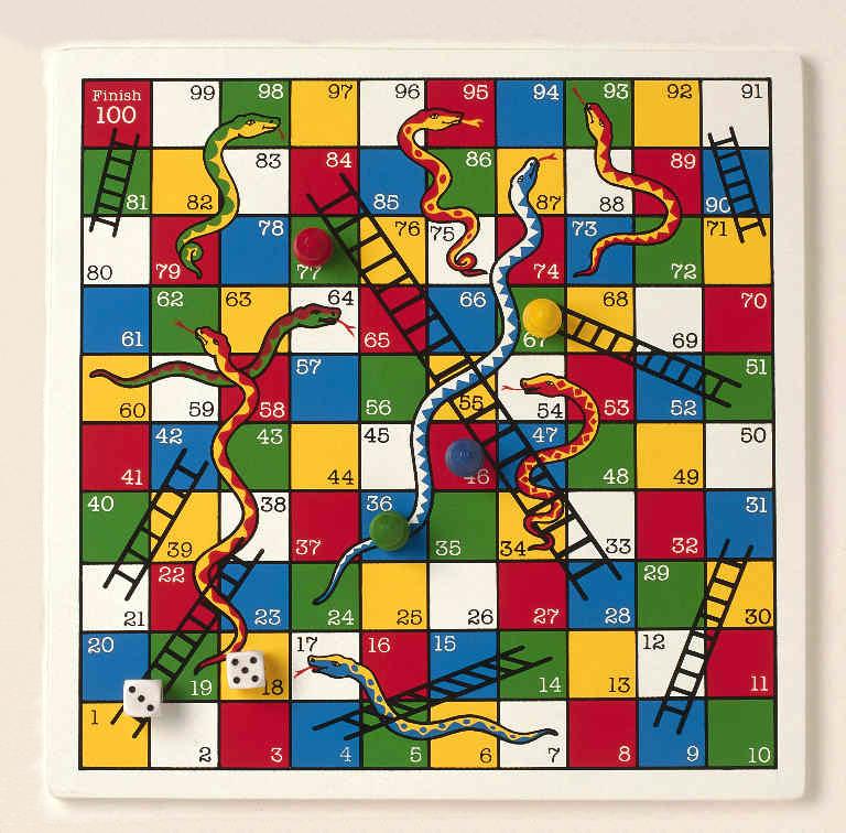 Egoteca del antip tico escaleras y serpientes for Escaleras y serpientes imprimir