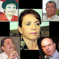 candidatos de LIBRE