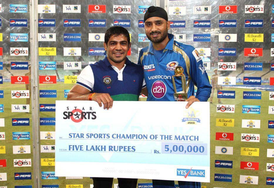 Harbhajan-Singh-Star-Sports-Champion-of-the-Match-RR-vs-MI-Qualifier2-IPL-2013