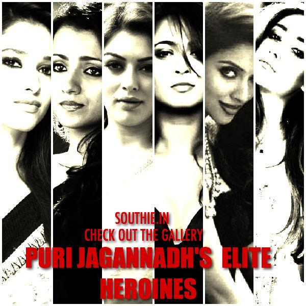Puri Jagannadh's Elite list of Hot Heroines. From Anushka to Disha Patani, they are hot, mesmerising and Sensual. Puri Jagannadh, Loafer, heroine, Disha Patani, Ileana, Tamanna, ANushka Shetty, Asin, hansika, Trisha, Hot and Sensual heroines.