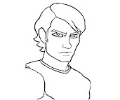 #1 Anakin Skywalker Coloring Page