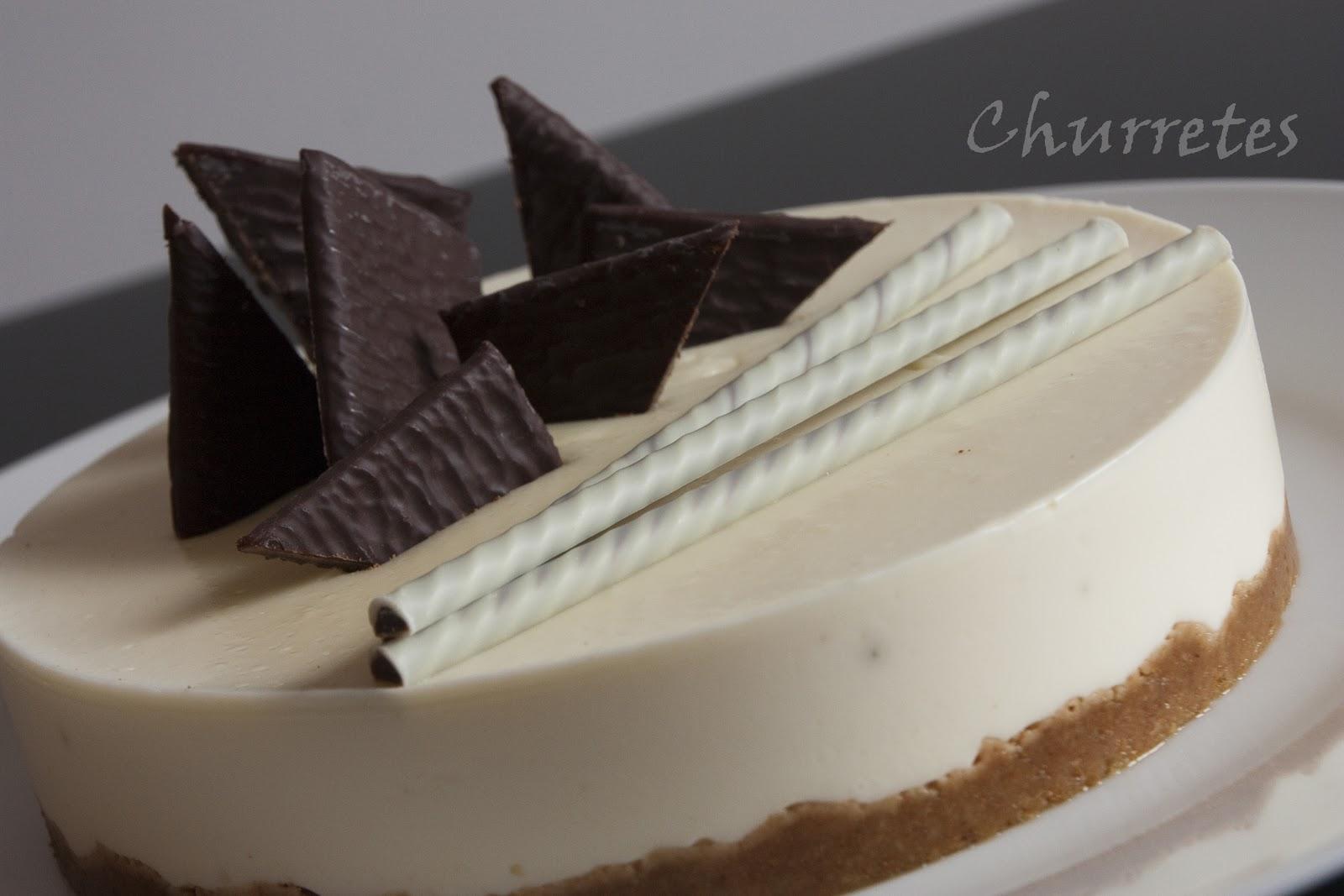 Baño Chocolate Blanco Para Tartas:Churretes de Cocholate: TARTA DE COCHOLATE BLANCO