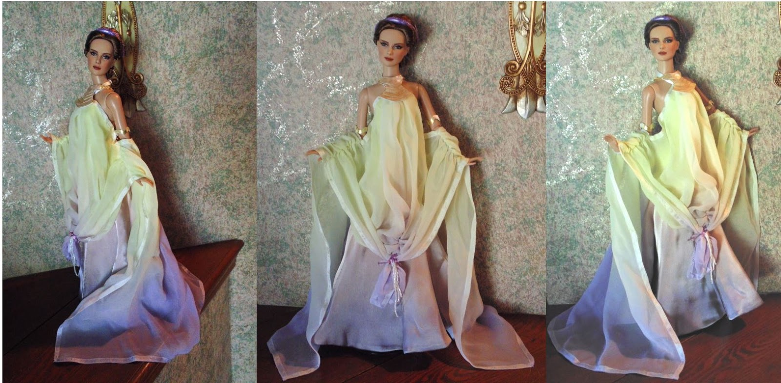 Monica K. Star Dolls: Padme Naberry Lake Dress (Fashion by Becky Unger)