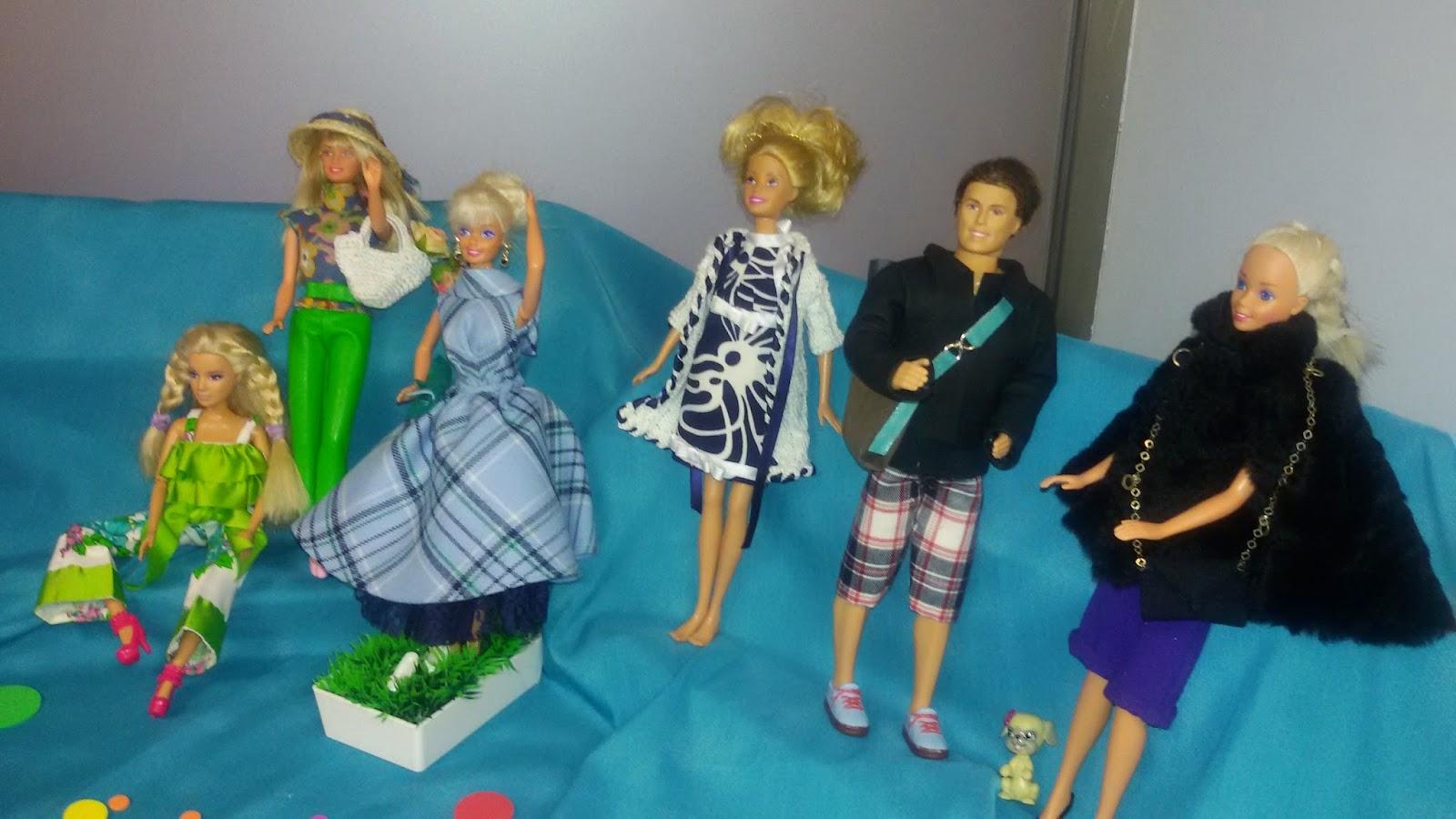 II Concurso de vestidos para Barbie (LP, Personal Shoppers)