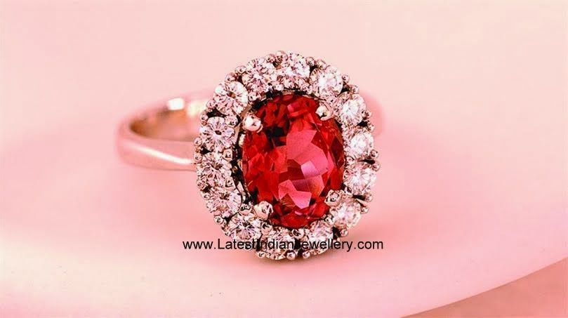Gorgeous Diamond Ruby Cocktail Ring