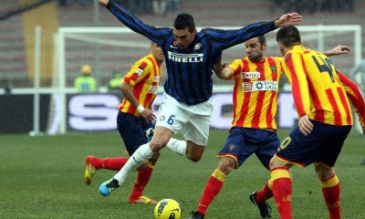 Lecce Inter 1-0 highlights