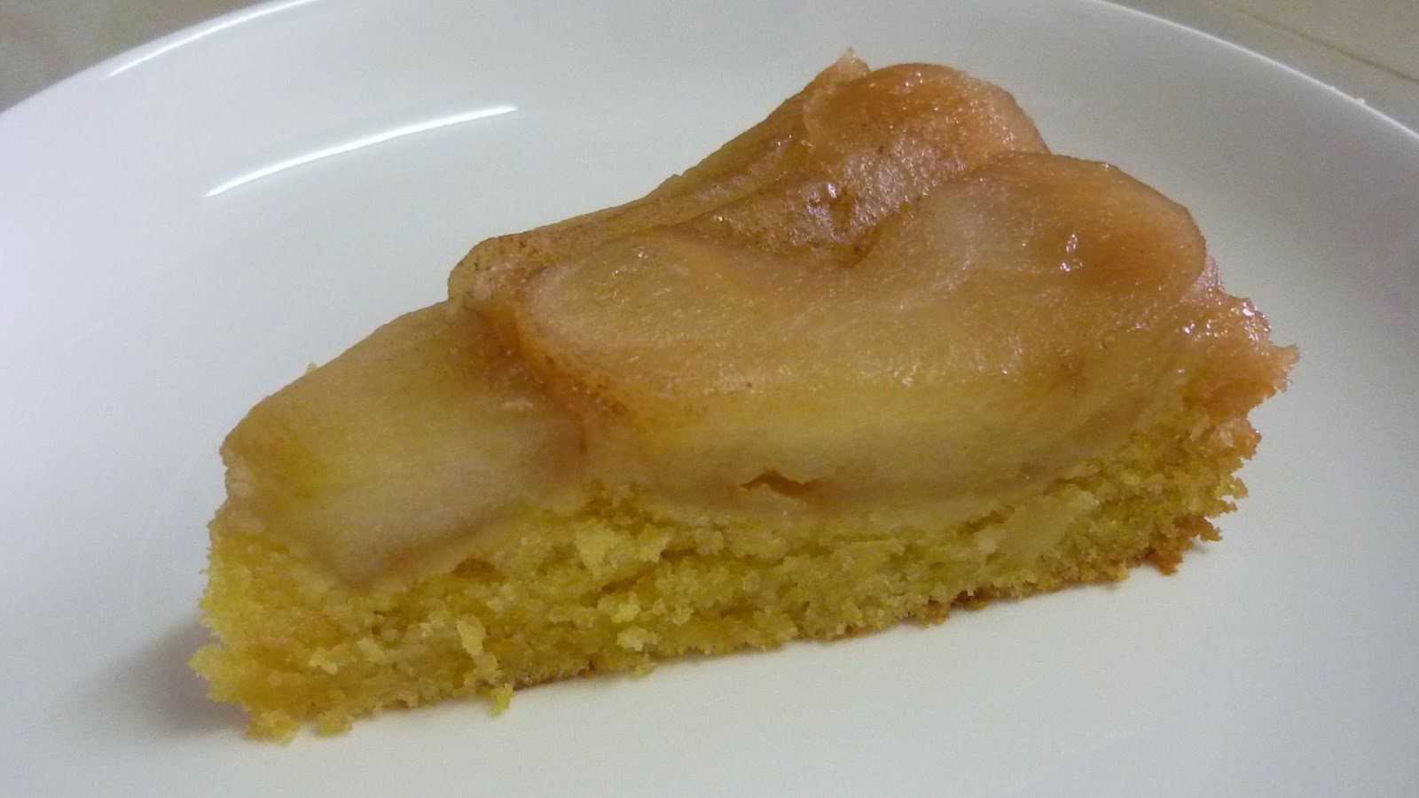 kitchen flavours: Apple-Cornmeal Upside-Down Cake : Free and Easy Bake ...