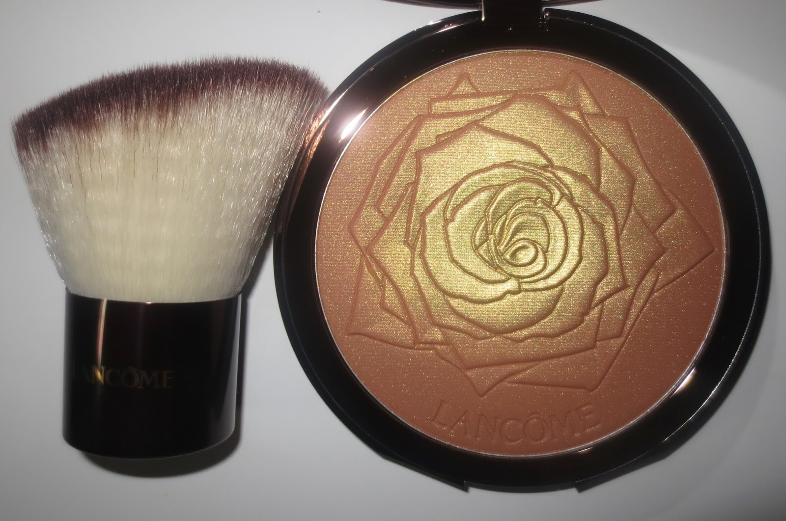 Lancôme Golden Riviera Collection Star Bronzing Powder and Bronzing Brush