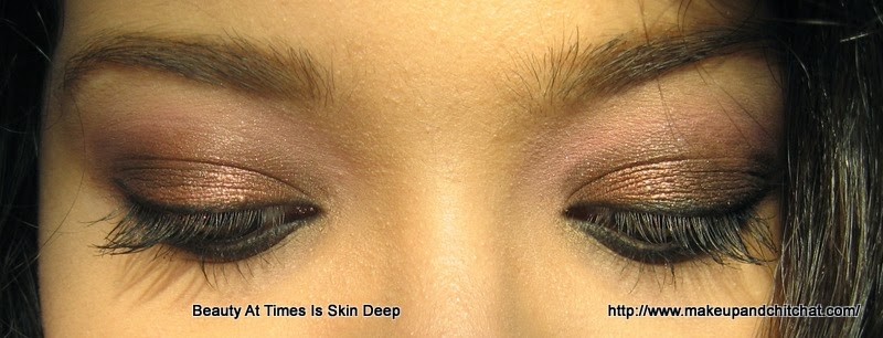 Easy eye makeup look with Bh Cosmetics Day and Night Palette