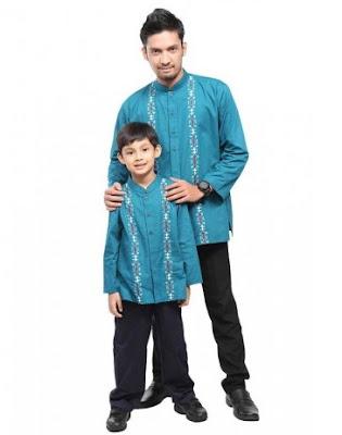 baju koko ayah dan anak