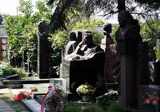 Cementerio de Novodevichi, Moscú