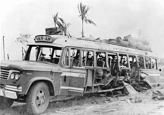 1967 Vietnamese civilian bus landmine explosion