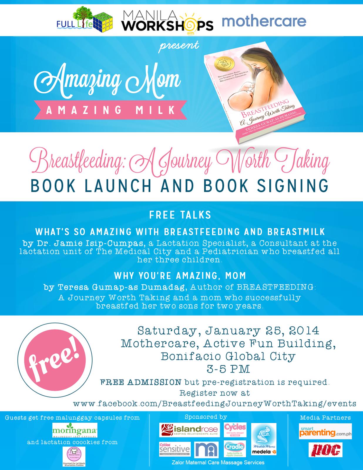 Book Launch: Breastfeeding, A Journey Worth Taking
