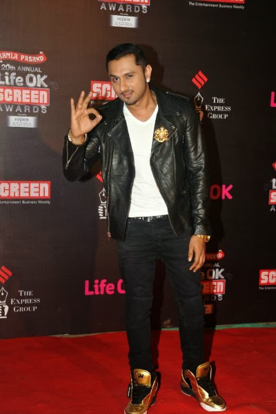 Honey Singh Life OK Screen Awards 2014