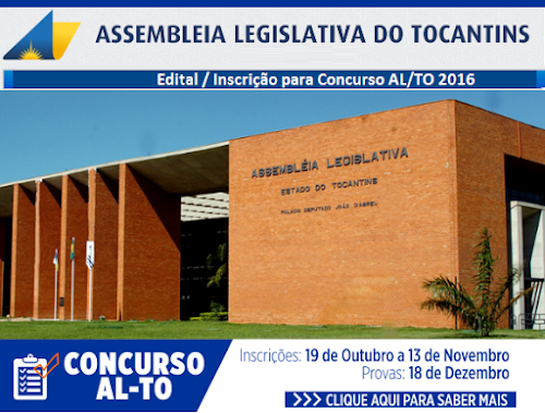 Apostila Concurso AL TO - Assembleia Legislativa do Tocantins-TO