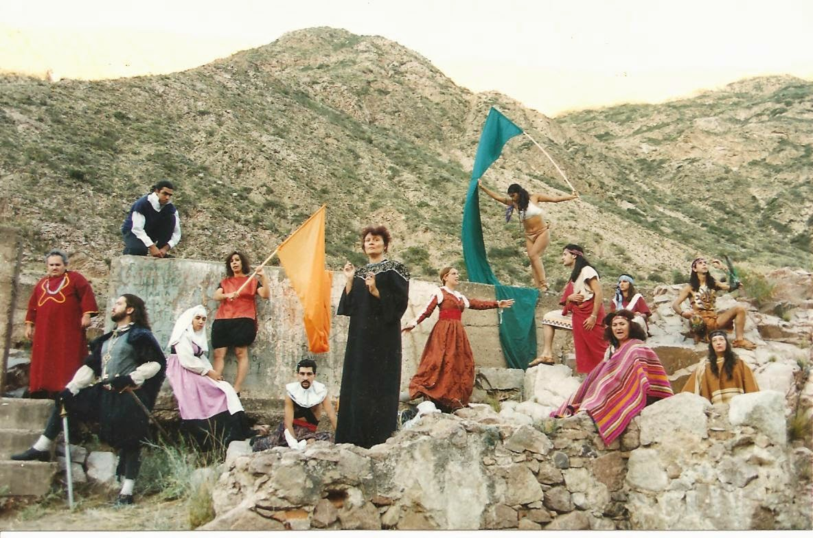 Imagen de Killenén y Julieta de Gladys Ravalle  y Ramiro Villalba – Joven Teatro Goethe