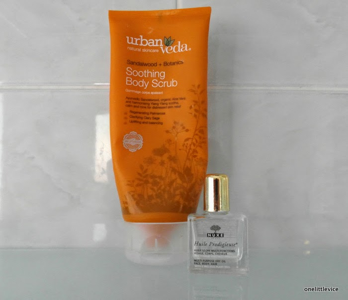 naturel affordable body scrub high end body oil