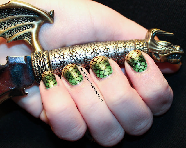 Dragon Scales Mani