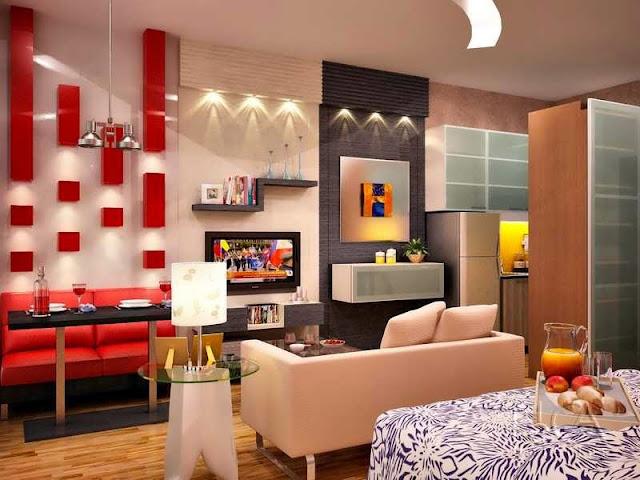 gambar interior apartemen tipe 36
