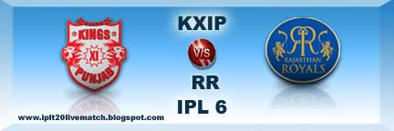 IPL KXIP vs RR Highlight Match and Full Scorecards