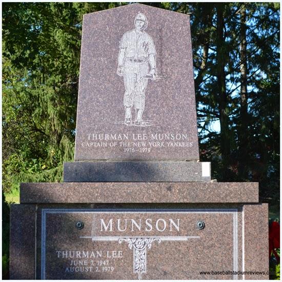 Thurman Munson grave stone