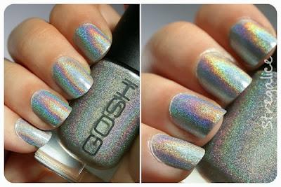 Gosh Holographic silver holo