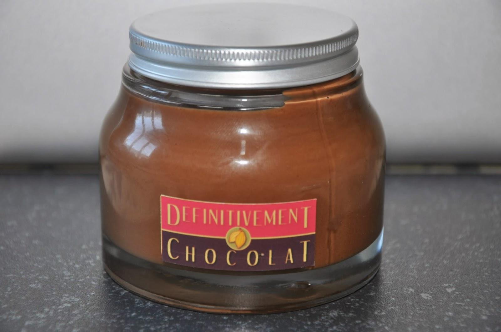 Pâte à tartiner définitivement chocolat