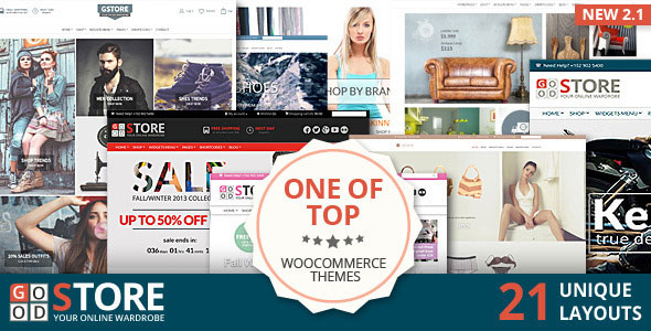 Free Download GoodStore V2.2.2 WooCommerce Wordpress Theme