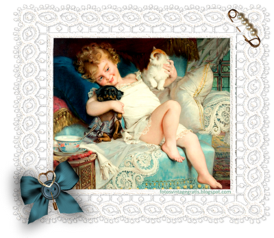 collage vintage cuadro de Emile Munier