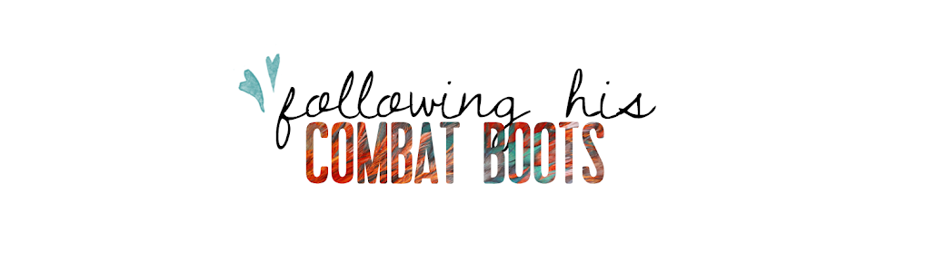 Following His Combat Boots