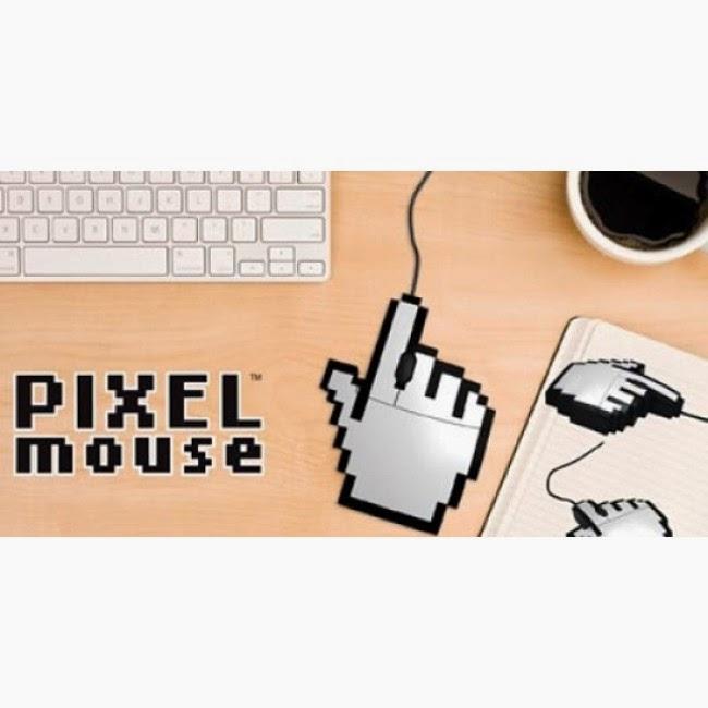 Ratón Mano Pixelada