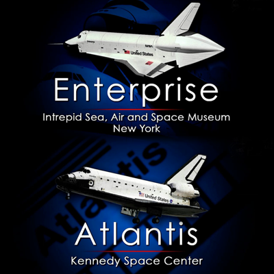 Atlantis – stays at Kennedy Space Centre. Endevour – goes to The California Science Center, Los Angeles, 12 April 2011.
