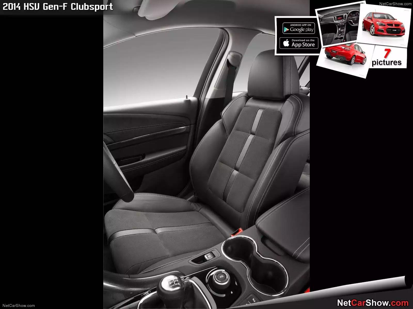 Hình ảnh xe ô tô HSV Gen-F Clubsport 2014 & nội ngoại thất