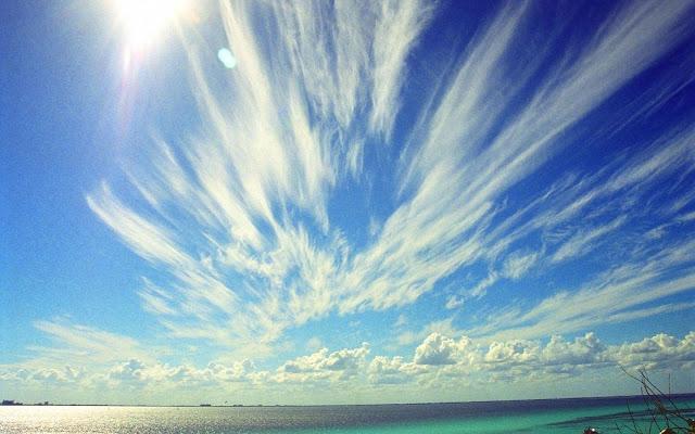 Clouds over Cancun