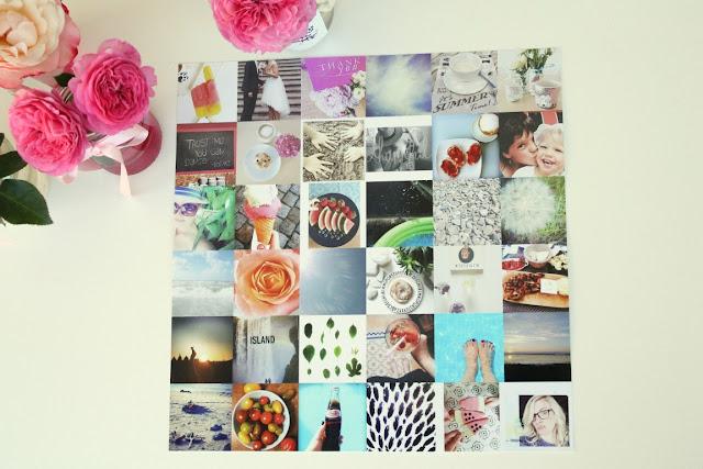 Dankbarkeitschallenge Fotos als Poster
