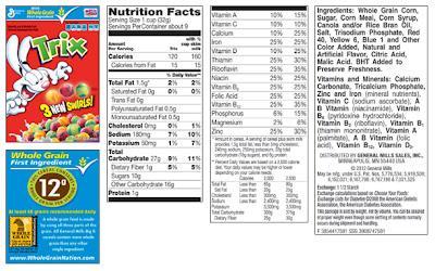 Understanding Food Labels Uk For Children