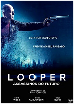 Download - Looper - Assassinos do Futuro DVDRip - AVI - Dual Áudio