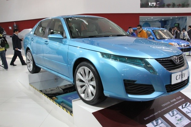 Will Electric Cars Like The One From Chinese Baic Above Ever Enjoy Ballistic Take Off In Market E Bikes Did China
