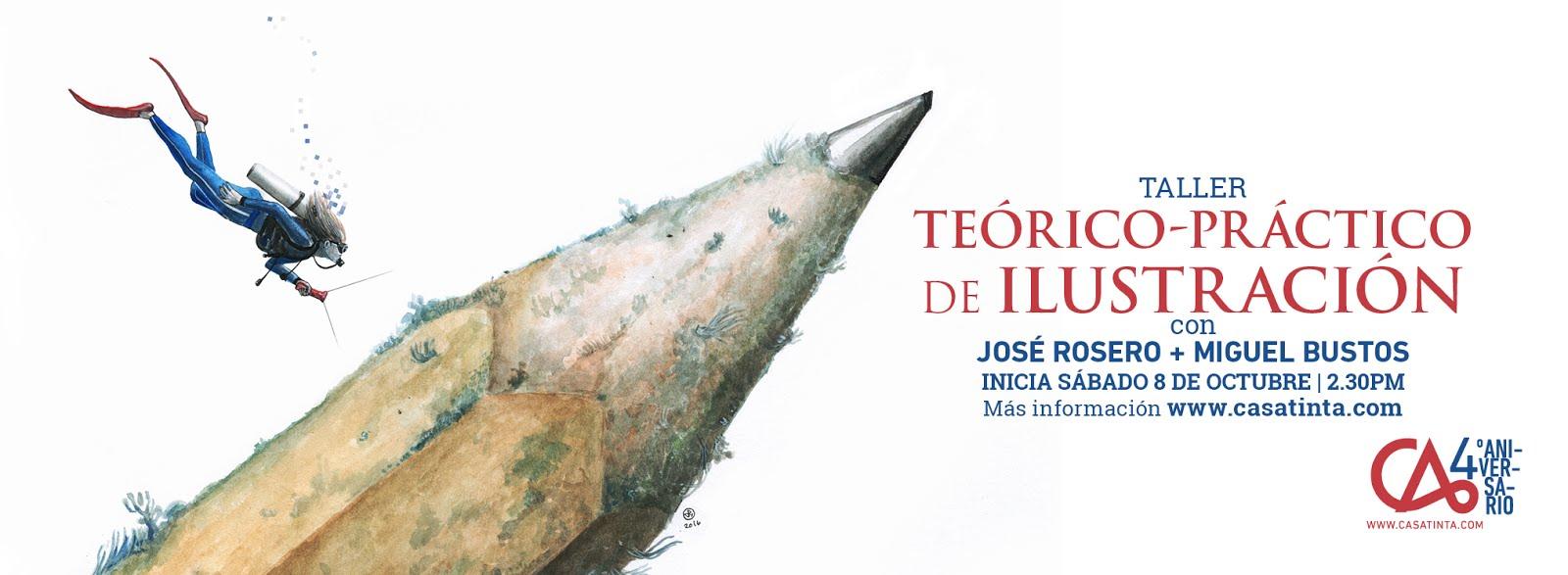 TÉORICO PRÁCTICO de ILUSTRACIÓN // 8 de oct