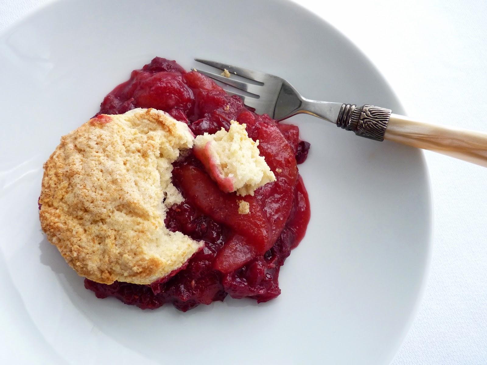 :pastry studio: Pear Cranberry Cobbler