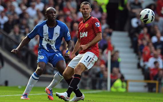 Foto Pertandingan Manchester United Vs Wigan Athletic