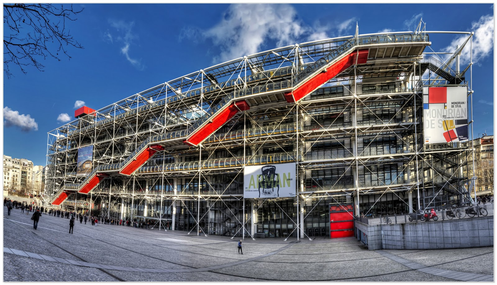 Centre Pompidou  Paris...